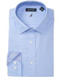Nautica - Performance Classic Fit Dress Shirt - Lyst