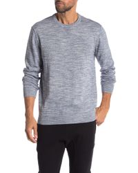 Report Collection - Men's Crewneck Slub Sweater - Lyst