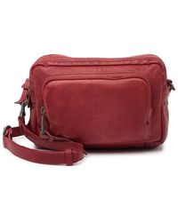 Lucky Brand Inzy Leather Belt Bag - Red