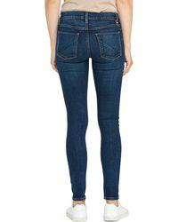 Hudson Jeans Nico Midrise Super Skinny Jeans - Blue