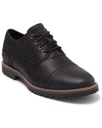 Cole Haan Nathan Cap Toe Leather Derby - Black