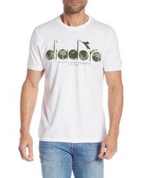 Diadora - Graphic Crew Neck Tee - Lyst