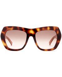 Max Mara - Women's Oversized Sunglasses - Lyst