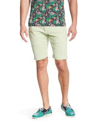Knowledge Cotton Apparel - Stretch Chino Shorts - Lyst