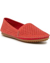 Adam Tucker - Surf Perforated Leather Slip-on Shoe - Lyst