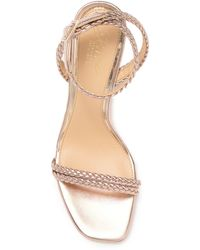 Badgley Mischka Sprinkle Braided Strappy Sandal - Multicolour