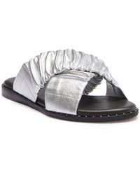 Lfl - Nitro Leather Slide Sandal - Lyst