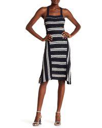 Opening Ceremony - Stripe Sequin Delta Dress - Lyst