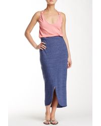 Nation Ltd - Marnie Wrap Skirt - Lyst