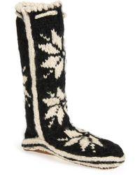 Woolrich 'chalet' Socks - Black