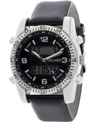 Steve Madden - Men's Leather & Alloy 54mm Watch - Lyst