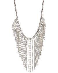 Loren Hope Joan Waterfall Necklace - Metallic