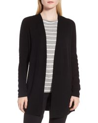 Nordstrom - Side Button Cashmere Cardigan - Lyst