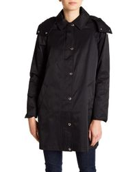 Tommy Hilfiger - Packable Hood Raincoat - Lyst
