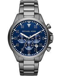 MICHAEL Michael Kors - Men's Gage Bracelet Watch, 45mm - Lyst