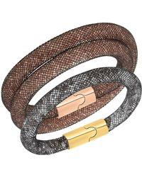 Swarovski - Stardust Bracelet Set - Lyst