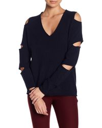 Skull Cashmere - Tyrone Cutout Sleeve Cashmere Sweater - Lyst