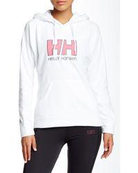Helly Hansen - Fleece Logo Hoodie - Lyst