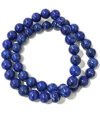 Charlene K Lapis Bracelet - Set Of 2 - Blue