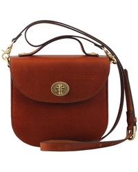 Most Wanted Usa - The Uptown Leather Saddlebag - Lyst