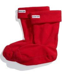 HUNTER - Original Short Boot Sock - Lyst