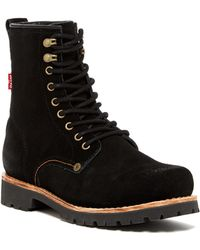 Levi's - Baxter Suede Boot - Lyst