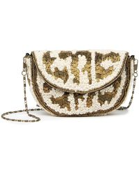 G-Lish Beaded Small Clutch - Multicolor