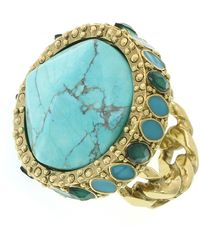 1928 - Domed Stone Ring - Size 8 - Lyst