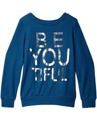 Soprano - Be-you-tiful Graphic Sweatshirt (big Girls) - Lyst