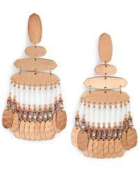 Kendra Scott Nicola Large Chandelier Earrings - Multicolour