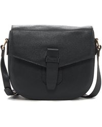 Zenith - Flap Over Leather Crossbody - Lyst