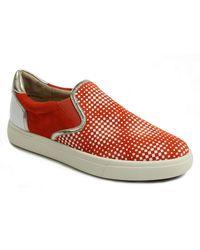 Vaneli Okal Slip-on Sneaker - Multiple Widths Available - Orange