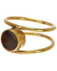 Soko - Aya Horn Ring - Size 6 - Lyst