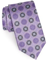 JZ Richards - Medallion Silk Tie - Lyst