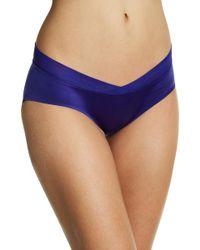 Sam Edelman Crossfront Hipster Panties - Blue