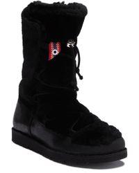 Birkenstock - Nuuk Genuine Fur Trimmed Weather Boot - Discontinued - Lyst