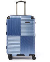 "Kenneth Cole - Lexington Ave 8-wheel 20"" Spinner Suitcase - Lyst"