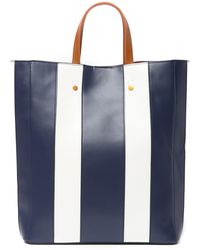 Deux Lux - Striped North South Tote Bag - Lyst