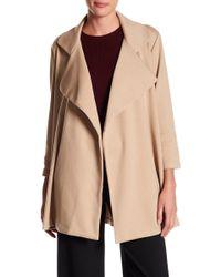 Adrienne Vittadini - Side Pocket Open Jacket - Lyst