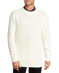 Treasure & Bond - Shaker Stitch Sweater - Lyst