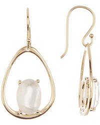 Ippolita Rock Candy 18k Gold Large Drop Earrings - Metallic