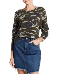 Stateside - Fleece Lined Raglan Pullover - Lyst