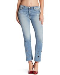 Black Orchid - Bardot Straight Jeans - Lyst
