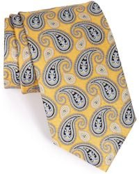 JZ Richards - Paisley Silk Tie - Lyst