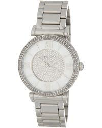 MICHAEL Michael Kors - Women's Catlin Bracelet Watch, 38mm - Lyst