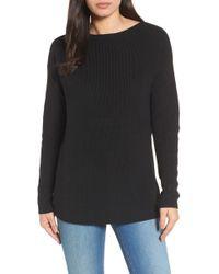 Halogen - (r) Twist Back Sweater (regular & Petite) - Lyst