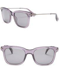 Lanvin - 51mm Rectangle Polarized Sunglasses - Lyst