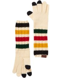 Pendleton - Chunky Knit Long Texting Gloves - Lyst