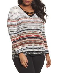 NIC+ZOE - Red Hills Jumper (plus Size) - Lyst