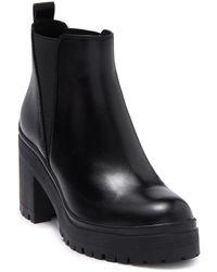 Jeffrey Campbell Chunky Lug Chelsea Boot - Black
